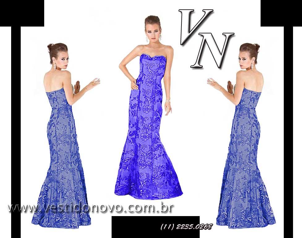 bc49dd3249552 vestido mãe do noivo todo em renda na cor azul marinho importado - aclimação