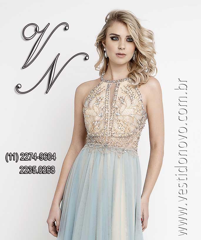 a622a8c182 vestido mae do noivo plus size tamanho grande azul com nude